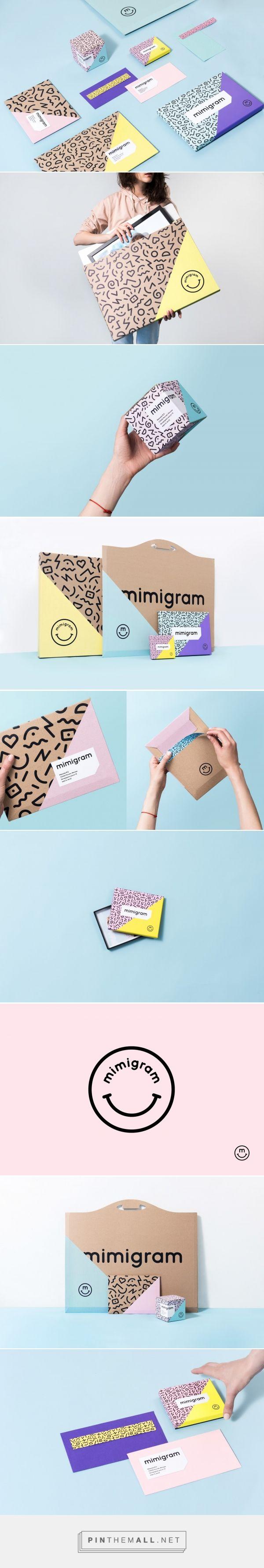 Mimigram packaging design by MADE design studio - http://www.packagingoftheworld.com/2018/01/mimigram.html