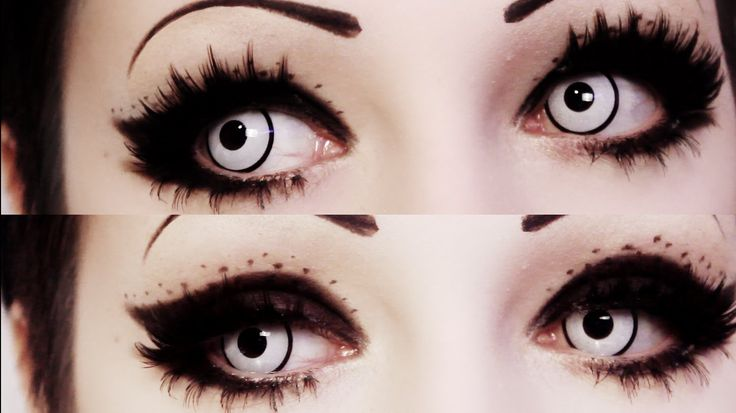 Speckled Gothic Cat Eye Tutorial | Toxic Tears