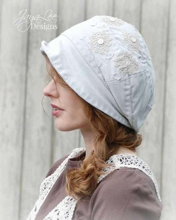 Queen Anne's Lace Boho Style Slouch Hat by Jaya Lee