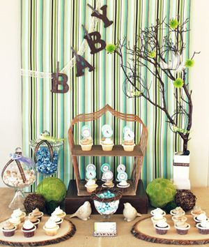 Baby shower themes: This one, Nesting