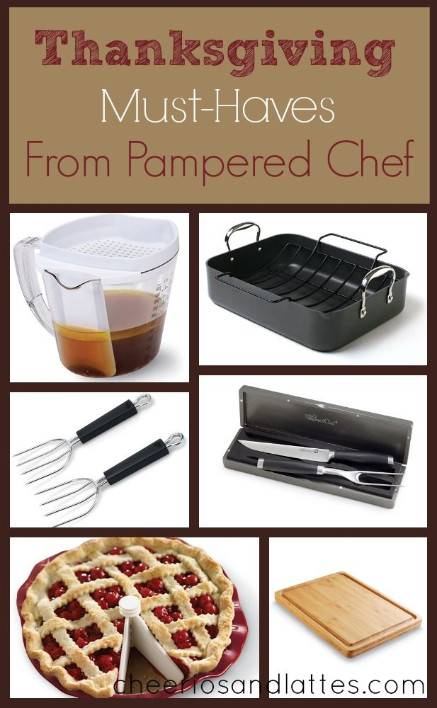 Thanksgiving Must-Haves from Pampered Chef #pamperedchef #thanksgivingtools