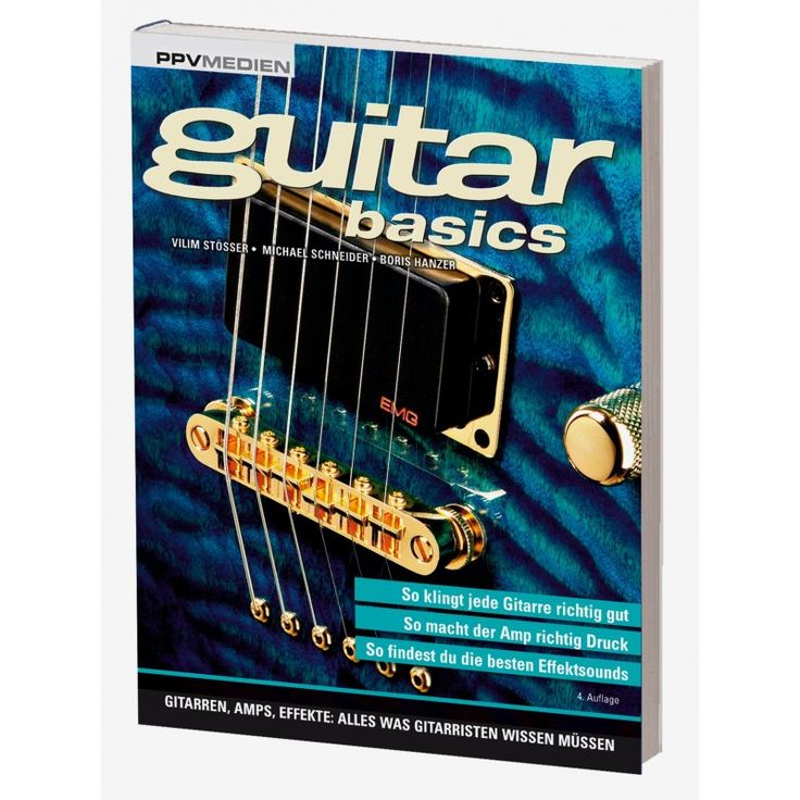 Guitar Basics - Gitarren, Amps, Effekte: Alles was Gitarristen wissen