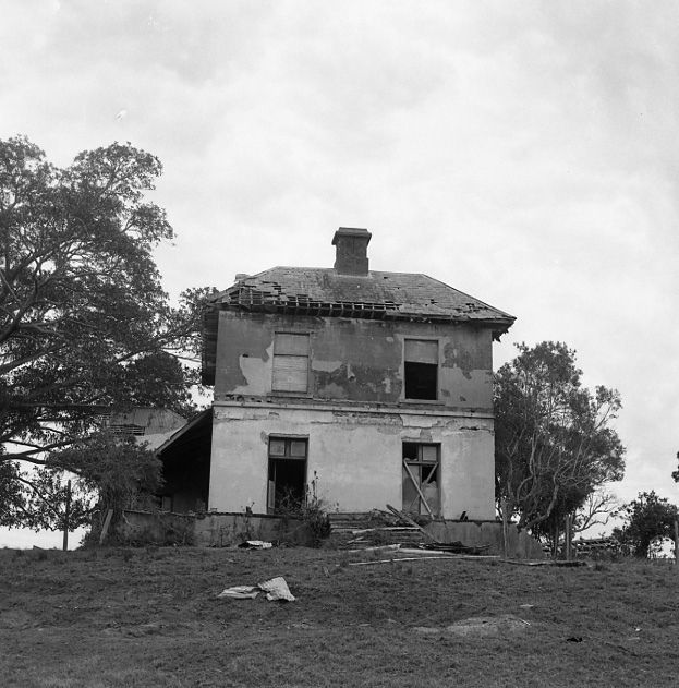 https://flic.kr/p/aCybGE | Osterley, after park had been cut into blocks, 1855 (for details of Osterley see Hunter's River) photo 1975 | This image was scanned from a film negative in the Athel D'Ombrain collection [Box Folder B10399] held by Cultural Collections at the University of Newcastle, NSW, Australia.  This image can be used for study and personal research purposes.  If you wish to reproduce this image for any other purpose you must obtain permission by contacting the University of…