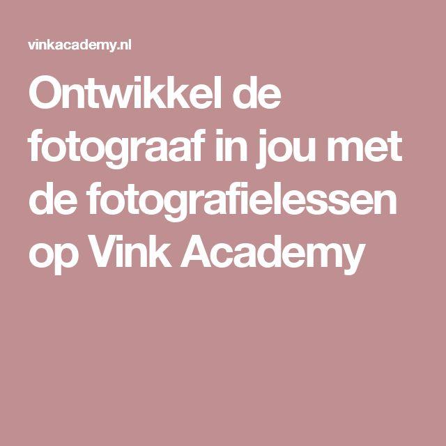 Ontwikkel de fotograaf in jou met de fotografielessen op Vink Academy