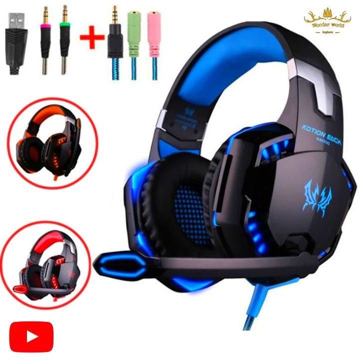 Gaming Headset Gaming Headset Big Headphones Gaming Headphones