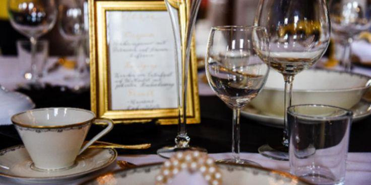 Great Gatsby Hochzeit auf Schloss Bückeburg