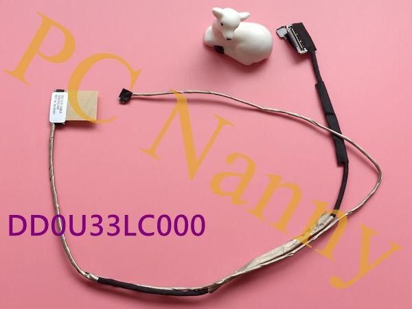 New Laptop Cable for HP Pavilion 14 Chromebook 14 Sleekbook 14-b000 DD0U33LC000 cable for hp Pavilion 14-c non cable flex