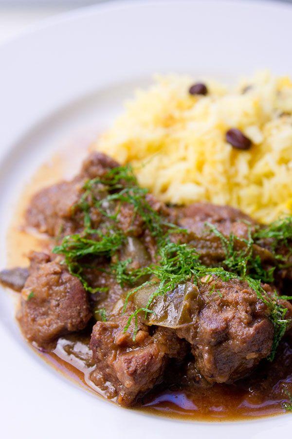 Lamb with Green Chili Masala | http://norecipes.com/blog/lamb-with-green-chili-masala/#