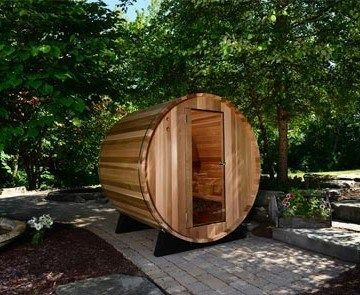 best 25 barrel sauna ideas on pinterest outdoor sauna. Black Bedroom Furniture Sets. Home Design Ideas