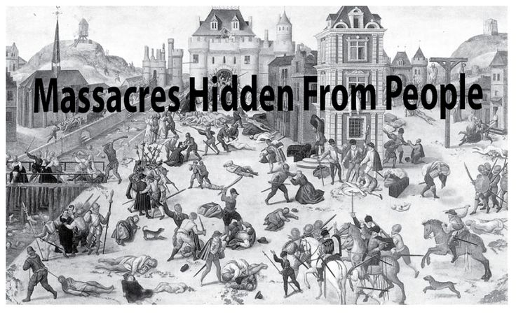 10 Massacres Hidden From The Public To Prevent Great Chaos