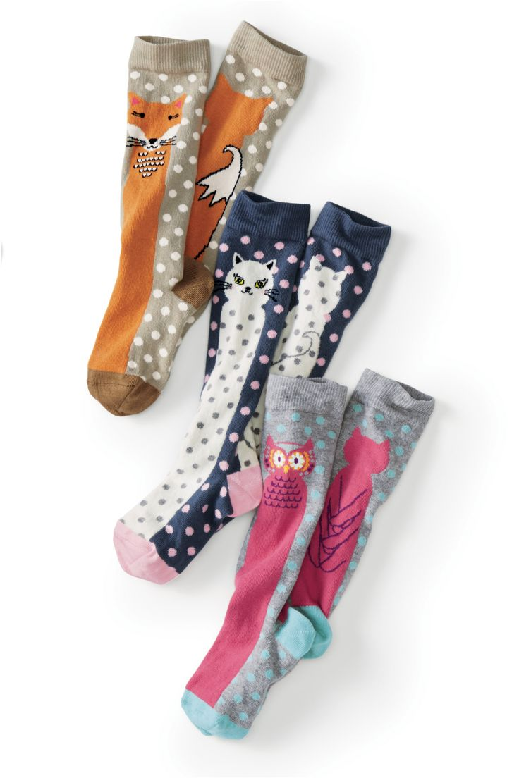 Critter Knee Socks | Hanna Andersson