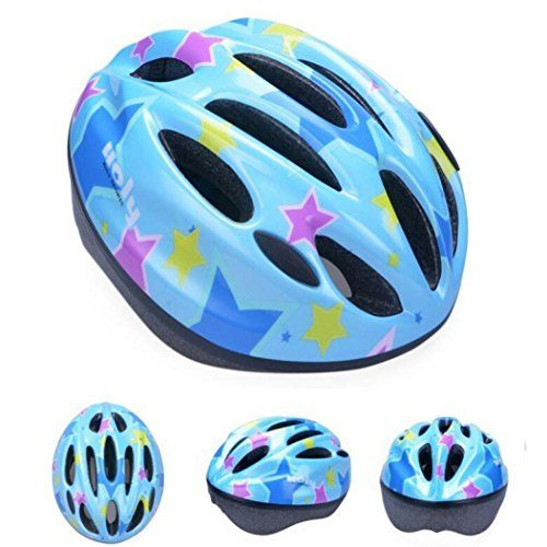 Bike Tool Kits - Womail 10 Vent Child Sports Mountain Road Bicycle Bike Cycling safety Helmet Blue >>> See this great product.