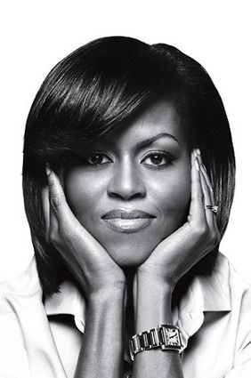 Pretty lady (portrait of USA's First Lady, Michelle Obama) #woman #b #photograph: Lady Michelle, First Ladies, Style, Beautiful, Michelle Obama, Beauty, People, Black, Michelleobama