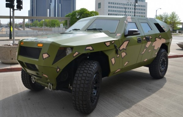U.S. Army Previews FED Beta Hybrid Vehicle