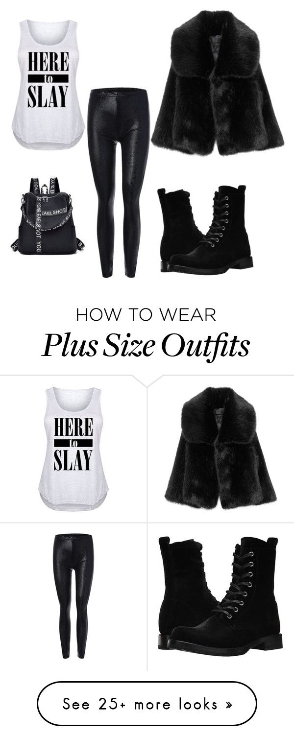 """Untitled #127"" by sthanji on Polyvore featuring Frye and plus size clothing"