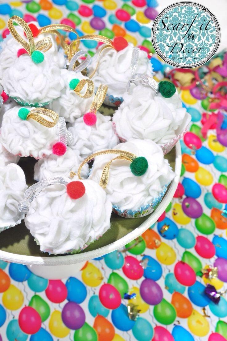 #Cupcake #christmas #ornaments Have fun!