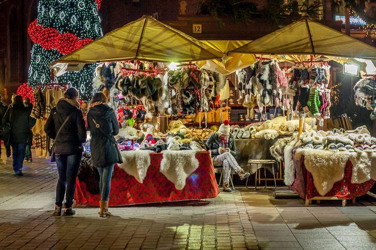 Christmas market in Krakow