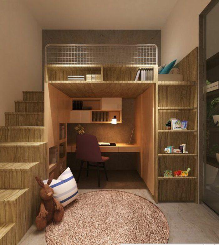 17 meilleures id es propos de chambres marron sur for Amenager petite chambre adulte