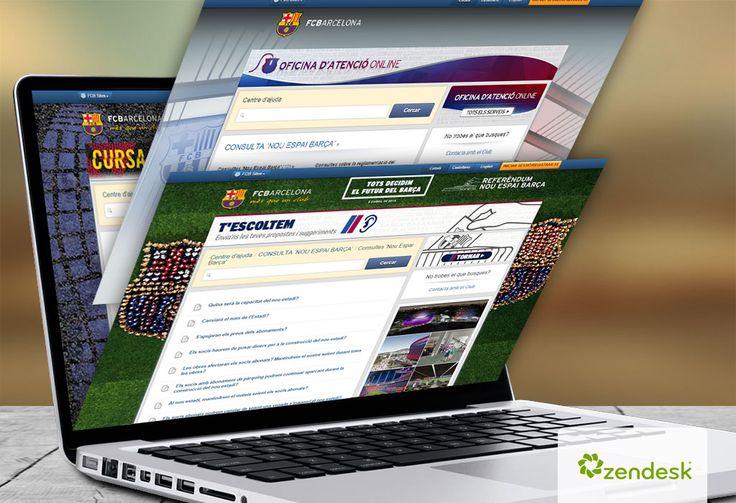 Implantación de sistema Helpdesk Zendesk para FC Barcelona | Dolphin Tecnologías