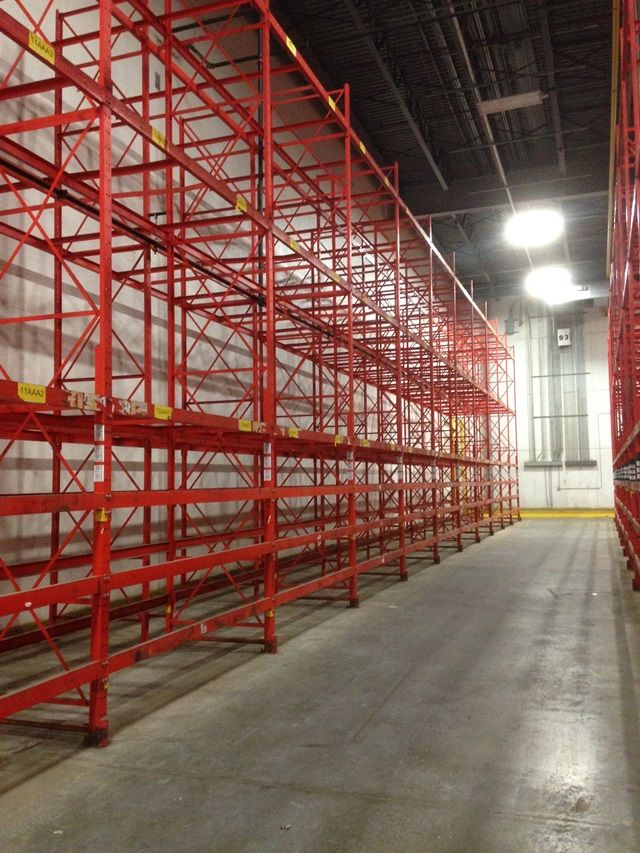 Used Structural Pallet Rack For Sale Now!