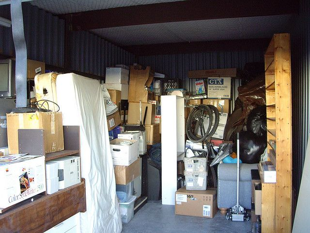 Instead Of Reducing Clutter Americans Are Deciding To Reduce Their Savings By Ing Storage Units