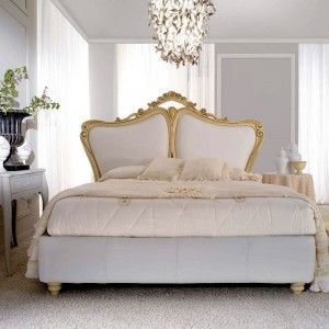 Letto Rubino con cornice laccata in avorio http://www.lineahouse.it/product.php?id_product=75