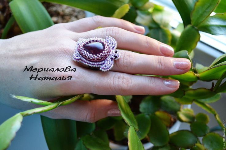 "Купить Кольцо ""Черепаха"" - фуксия, турмалин, кольцо с турмалином, кольцо, кольцо черепаха, черепаха"
