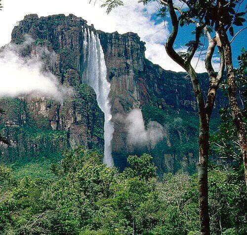 Водопад Анхель