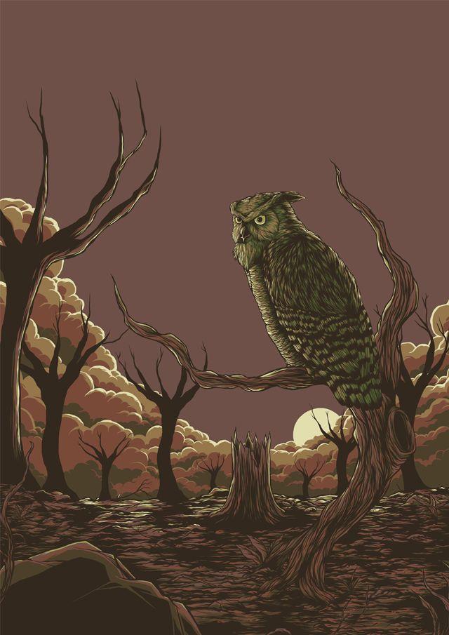 Old Hunter | #art #illustration #drawing #design
