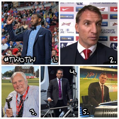 #TWOTW time here at www.tiesplanet.com and our winner this week is #WashingtonWizards player #JohnWall closely followed by #LFC manager #BrendanRodgers , #Masters stalwart #PeterAlliss , #Channel4News Presenter #KrishnanGuruMurthy and finally #Liverpool legend #JamieCarragher ! Keep a lookout for our #SFTW feature which will be revealed on #Monday! If you can't wait till then for your fix of #Menswear #Inspiration check our 'New In' section on the website! #MensStyle #Dapper #Gentleman…