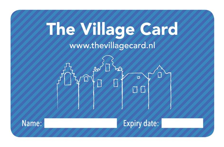 The Amsterdam Mamas - The Village Card (Front)