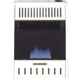 PROCOM Blue Flame Wall Heater — 10,000 BTU Output, 300 Sq. Ft. Heating Capacity