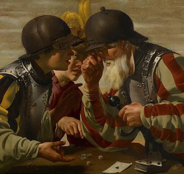 DescriptionThe Gamblers, 1623 (oil on canvas), Brugghen, Hendrick Ter (1588-1629) / Minneapolis Institute of Arts, MN, USA / The Bridgeman Art Library