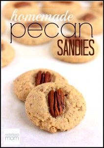 My husband loved Pecan Sandies from Keebler. I looked at the ingredients and about died. Solution...use this Homemade Pecan Sandies Recipe with a TON less sugar, lots more flavor, and ingredients you can name.