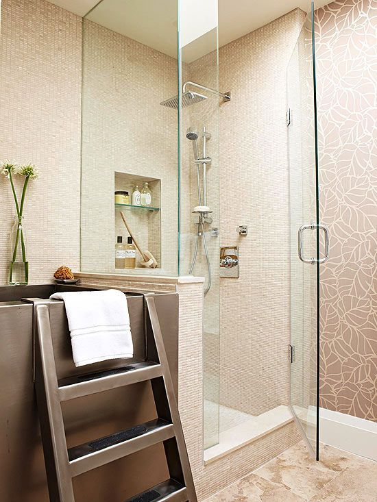 507 Best Images About Lovely Little Bathrooms On Pinterest Trough Sink Shower Tiles And Double Sinks