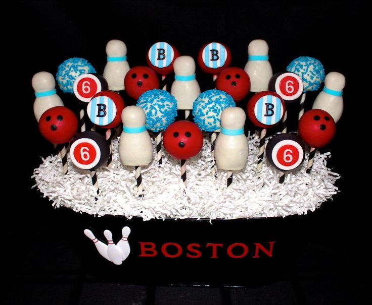 Bowling Pin Cake Pops Recipe