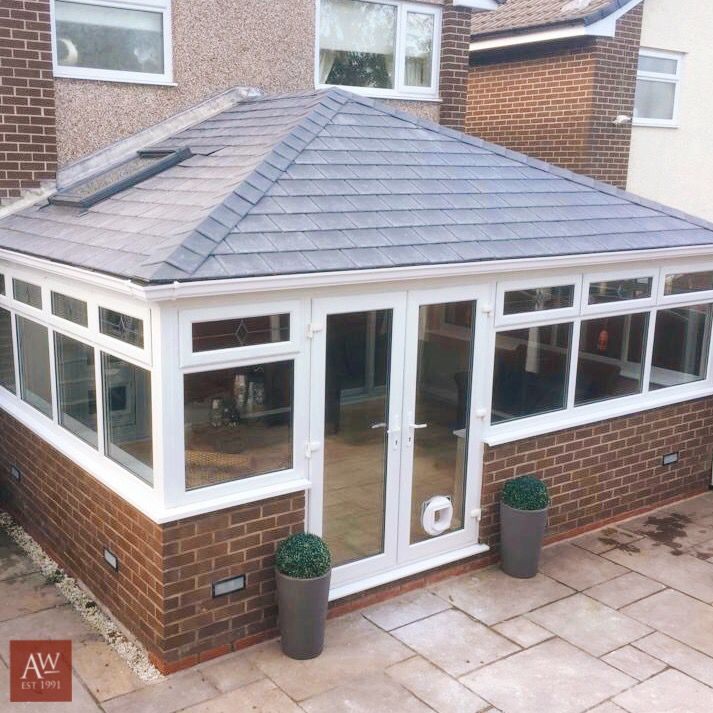 Solid Conservatory Roof Conservatory Roof Tiled Conservatory Roof Warm Roof
