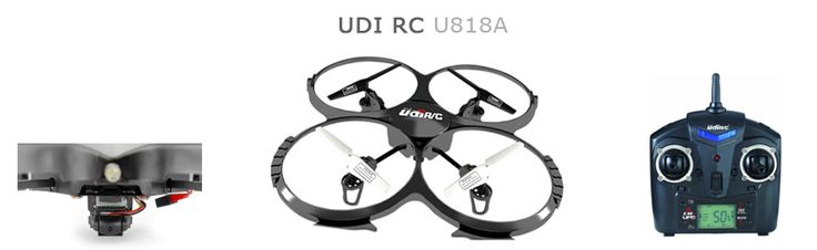 UDI U818A RC Quadcopter Review