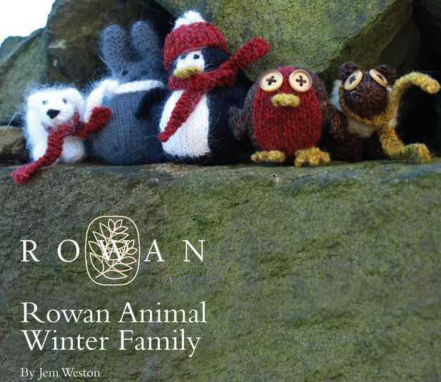 373 best knitting toys images on pinterest knit crochet free rowan pattern animal winter family by jem watson dt1010fo
