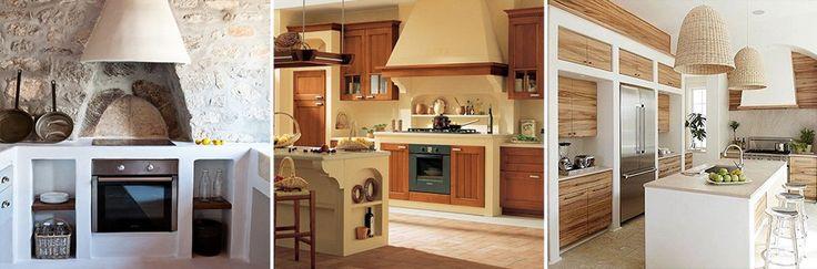 51 best cucine in muratura images on pinterest home for Salotti in muratura