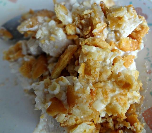 Ritz Cracker Chicken Casserole- cause i always forget the recipe!