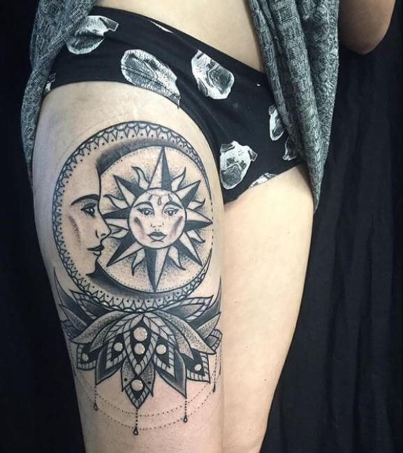 Best 25 Moon Phase Tattoo Ideas On Pinterest: Best 25+ Moon Tattoos Ideas On Pinterest
