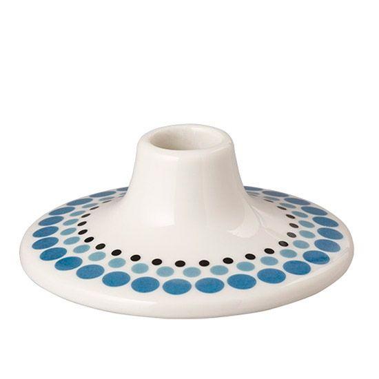 Blå Casalinga lysestage