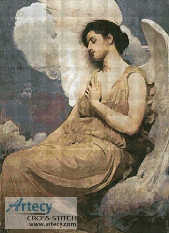 Winged Figure Counted Cross Stitch Pattern http://www.artecyshop.com/index.php?main_page=product_info&cPath=31_36&products_id=1212