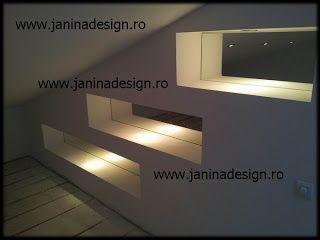 Amenajari mansarde, rigips gips carton.Totul este efectuat cu mult profesionalism si in timp optim.Pentru mai multe detalii vizitati adresa http://www.janinadesign.ro http://janinadesign.blogspot.com