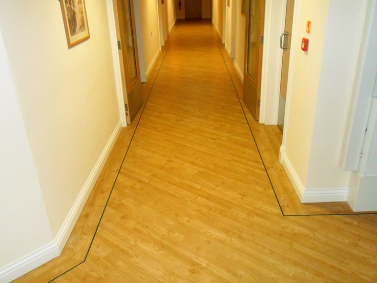Nursing home flooring project. Alliance Flooring in leeds specialise in safety flooring and wetrooms for nursing homes
