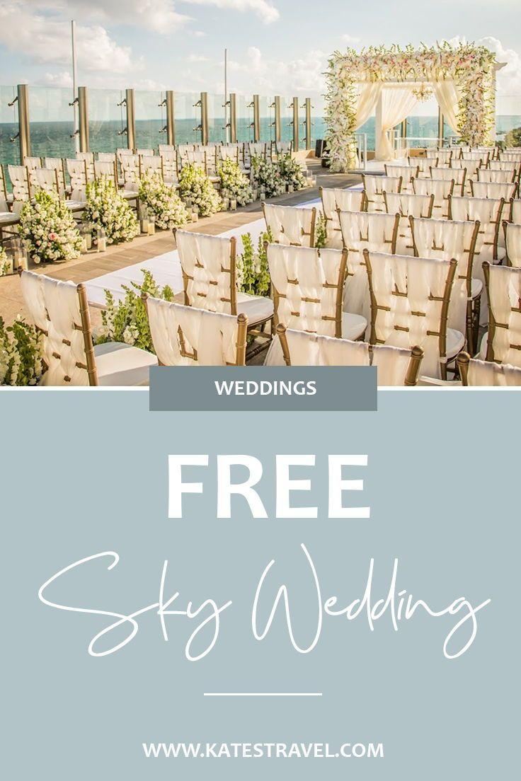 The Most Affordable Destination Wedding Starts Here Your Sky Wedding Affordable Destination Wedding All Inclusive Destination Weddings Riviera Cancun Wedding