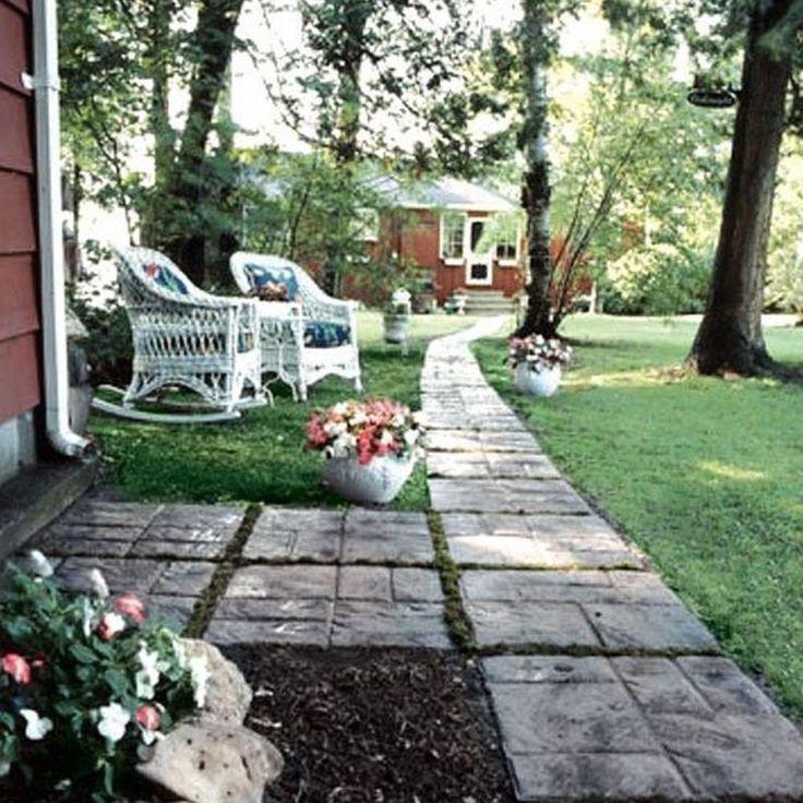25 Lovely Diy Garden Pathway Ideas: Best 25+ Stepping Stone Molds Ideas On Pinterest