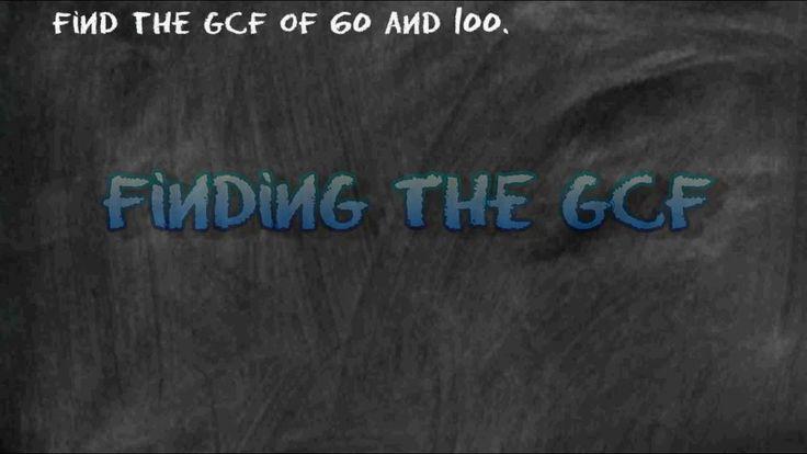 26 besten math - GCF Bilder auf Pinterest | 4. klasse rechnen ...