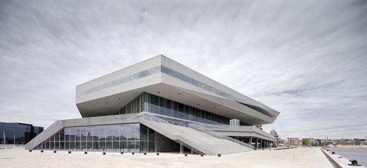Building of the day - Dokk1 Dokk 1, Nordhavnsgade, Aarhus C, Denmark